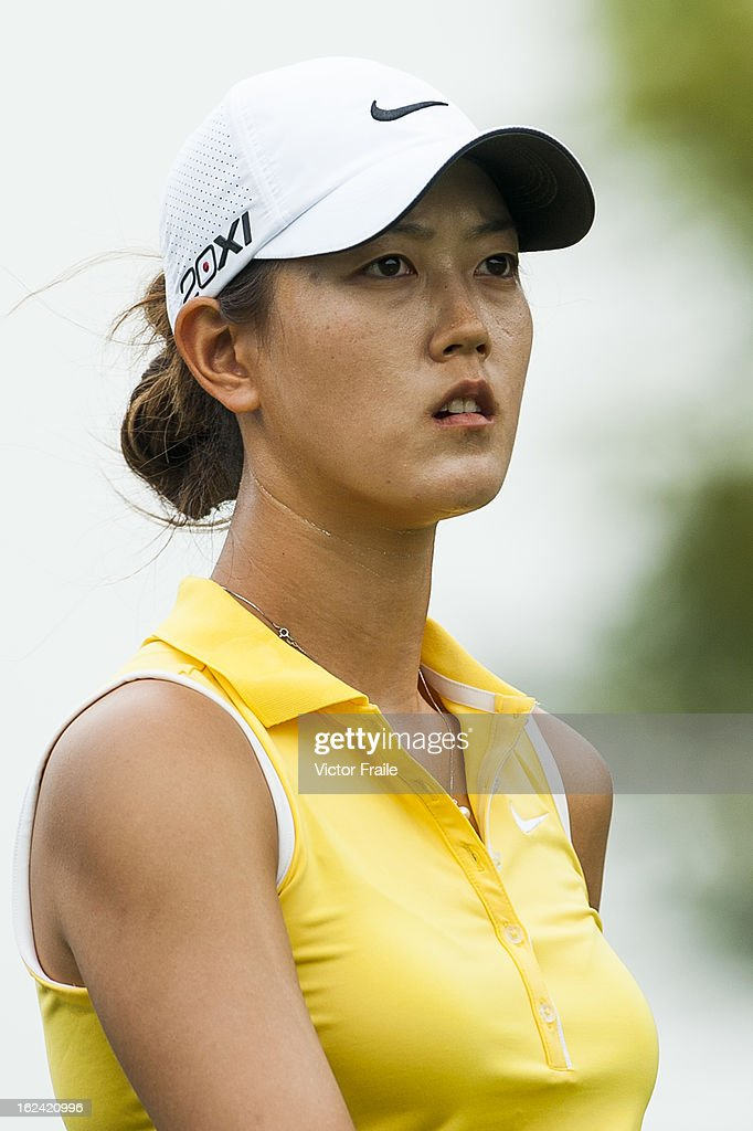 <a gi-track='captionPersonalityLinkClicked' href=/galleries/search?phrase=Michelle+Wie&family=editorial&specificpeople=201982 ng-click='$event.stopPropagation()'>Michelle Wie</a> of USA walks on the 12nd hole during day three of the Honda LPGA Thailand at Siam Country Club on February 23, 2013 in Chon Buri, Thailand.