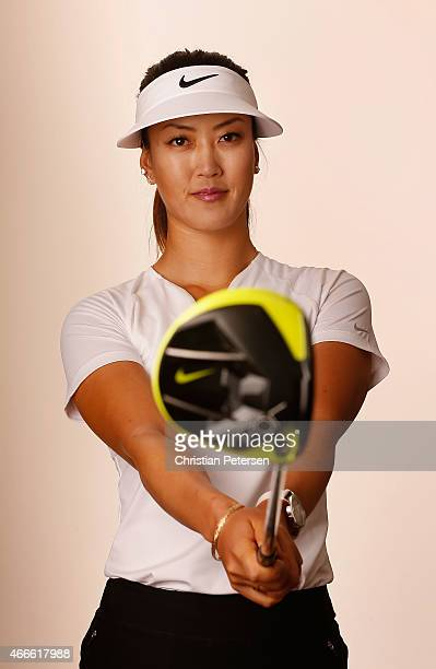 Michelle Wie poses for a portrait ahead of the LPGA Founders Cup at Wildfire Golf Club on March 17 2015 in Phoenix Arizona