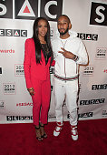 Michelle Williams and Swizz Beatz attends 2013 SESAC Pop Music Awards at New York Public Library on May 13 2013 in New York City