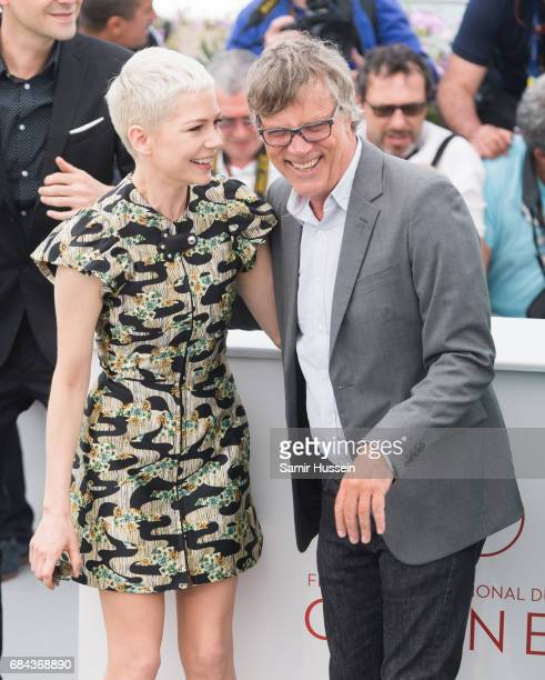 Michelle Williams and Todd Haynes attends Wonderstruck' Photocall during the 70th annual Cannes Film Festival at Palais des Festivals on May 18 2017...