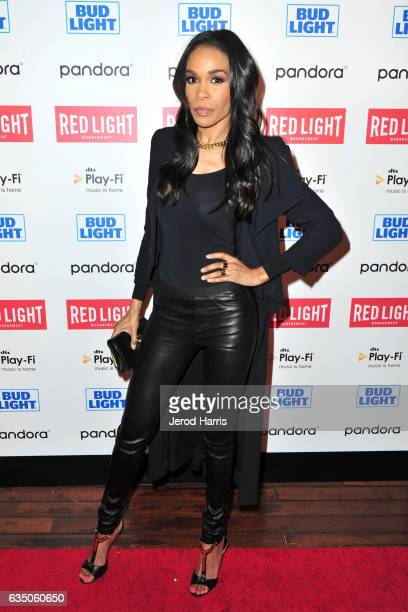 Michelle Williams arrives at the Red Light Management 2017 Grammy After Party on February 12 2017 in West Hollywood California