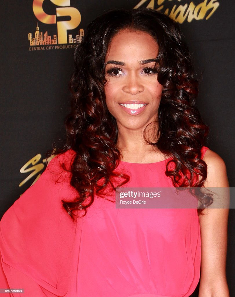 Michelle Williams arrives to the 28th Annual Stellar Awards at Grand Ole Opry House on January 19, 2013 in Nashville, Tennessee.