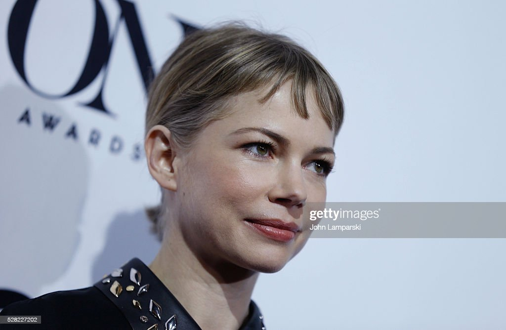 Michelle Williams attends 2016 Tony Awards Meet The Nominees Press Junket at Diamond Horseshoe at the Paramount Hotel on May 4, 2016 in New York City.