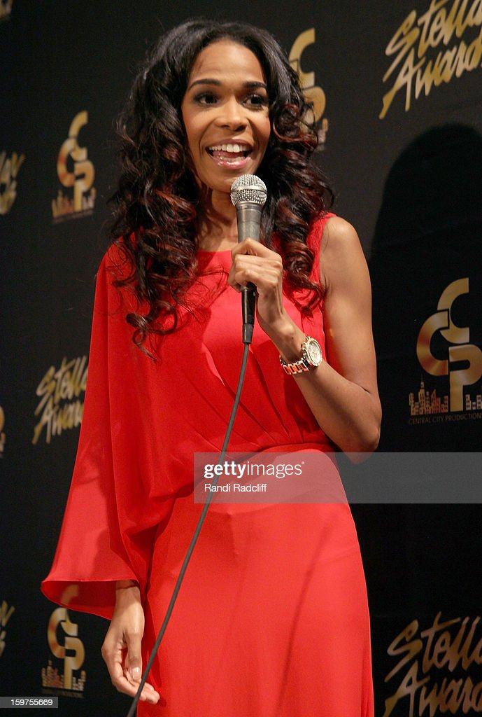 Michelle Williams attends the 28th Annual Stellar Awards Press Room at Grand Ole Opry House on January 19, 2013 in Nashville, Tennessee.