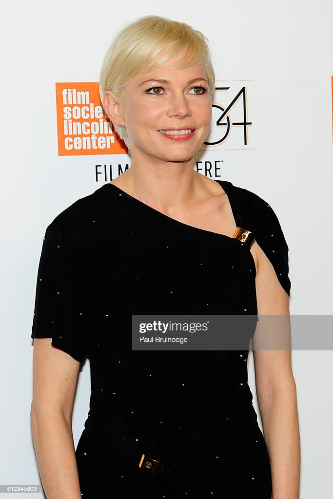 Michelle Williams attends the 54th New York Film Festival - 'Certain Women' Premiere at Alice Tully Hall on October 3, 2016 in New York City.