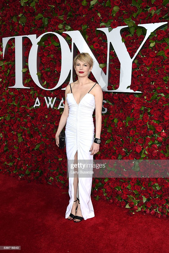 Michelle Williams attends the 70th Annual Tony Awards at The Beacon Theatre on June 12 2016 in New York City