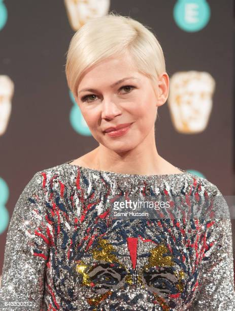 Michelle Williams attends the 70th EE British Academy Film Awards at Royal Albert Hall on February 12 2017 in London England