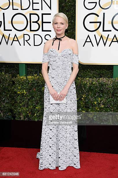Michelle Williams attends the 74th Annual Golden Globe Awards at The Beverly Hilton Hotel on January 8 2017 in Beverly Hills California