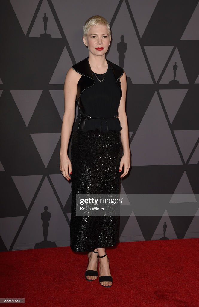 Michelle Williams attends the Academy of Motion Picture Arts and Sciences' 9th Annual Governors Awards at The Ray Dolby Ballroom at Hollywood & Highland Center on November 11, 2017 in Hollywood, California.