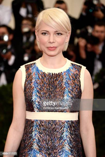 Michelle Williams attends the 'Charles James Beyond Fashion' Costume Institute Gala at the Metropolitan Museum of Art on May 5 2014 in New York City