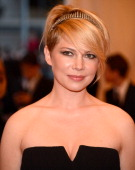 Michelle Williams attends the Costume Institute Gala for the 'PUNK Chaos to Couture' exhibition at the Metropolitan Museum of Art on May 6 2013 in...