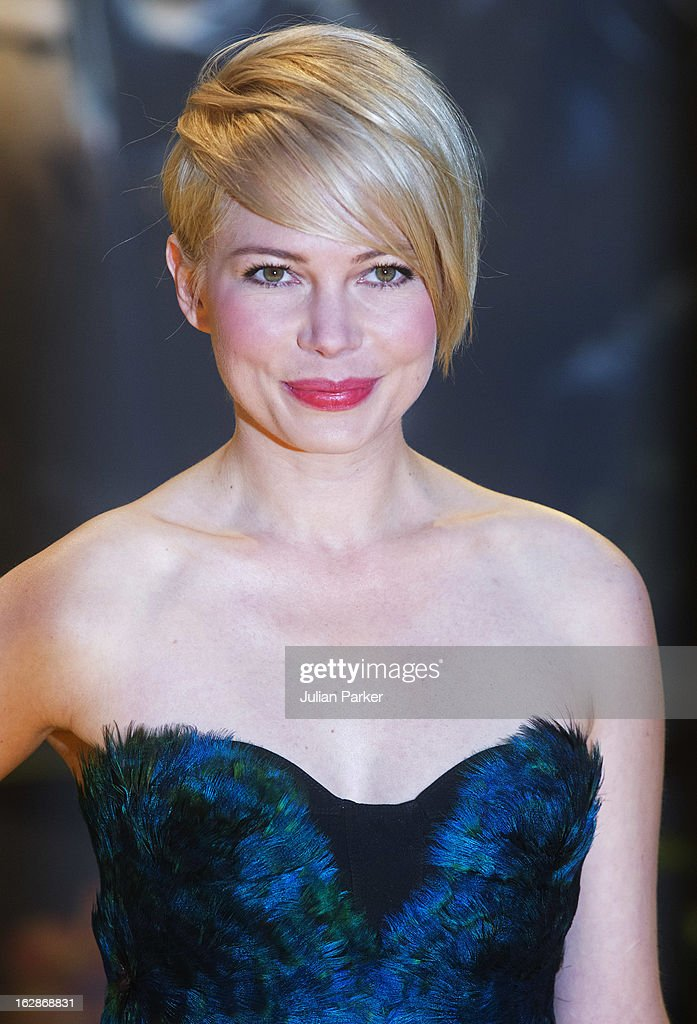 Michelle Williams attends the European Premiere of 'Oz: The Great and Powerful' at the Empire Leicester Square on February 28, 2013 in London, England.