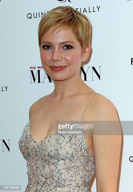 Michelle Williams attends the 'My Week With Marilyn' New York premiere at The Paris Theatre on November 13 2011 in New York City