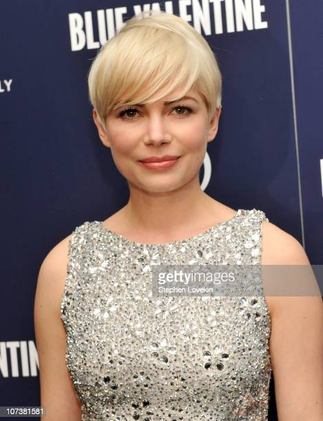Michelle Williams attends the New York premiere of 'Blue Valentine' hosted by Quintessentially at The Museum of Modern Art on December 7 2010 in New...