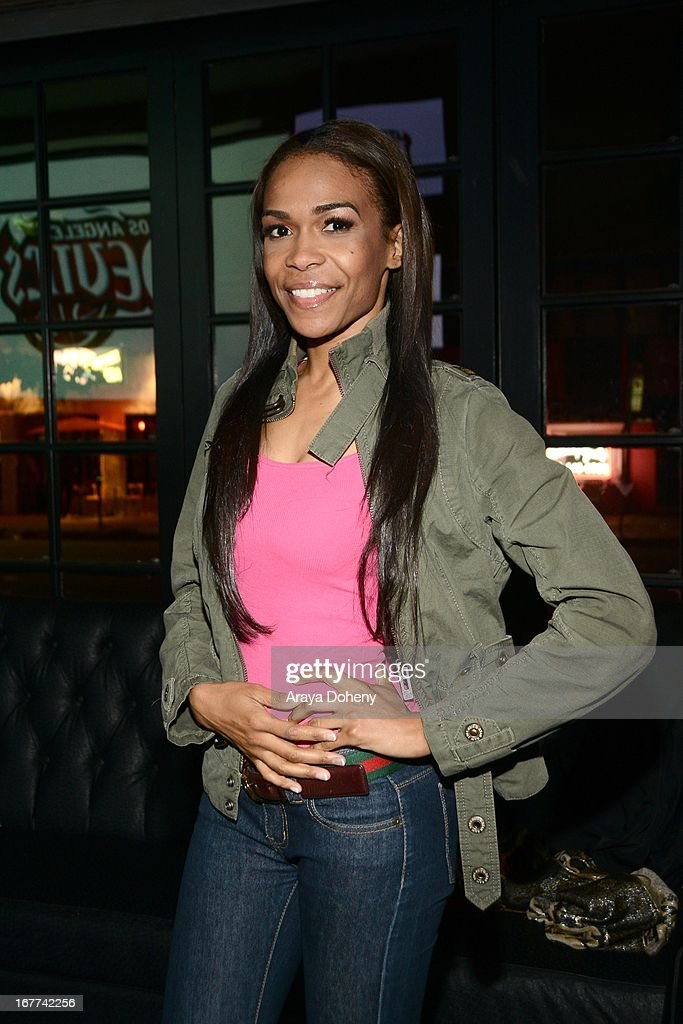 Michelle Williams attends VH1's 'Hit the Floor' Wrap Party on April 28, 2013 in Los Angeles, California.