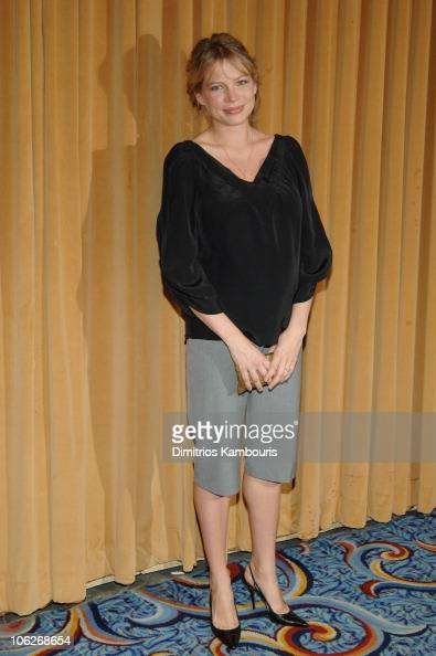 Michelle Williams during 65th Annual Motion Picture Club Awards and Luncheon at Marriot Marquis in New York City New York United States
