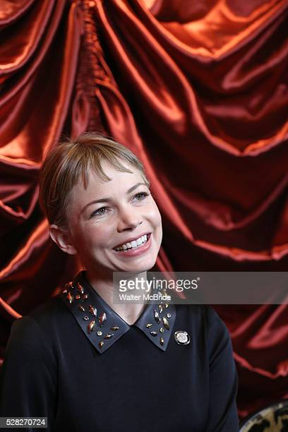 Michelle Williams during the 2016 Tony Awards Meet The Nominees Press Reception at the Paramount Hotel on May 4 2016 in New York City