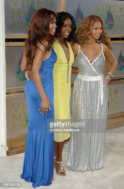 Michelle Williams Kelly Rowland and Beyonce Knowles of Destiny's Child