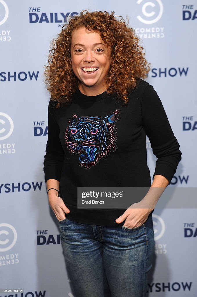 Michelle Wolf attends Comedy Central's The Daily Show With Trevor Noah Premiere Party Event on October 22, 2015 in New York City.