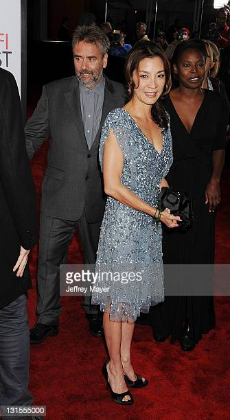 Michelle Yeoh attends the AFI Fest 2011 Special Screening Of 'The Lady' held at the Grauman's Chinese Theatre on November 4 2011 in Hollywood...