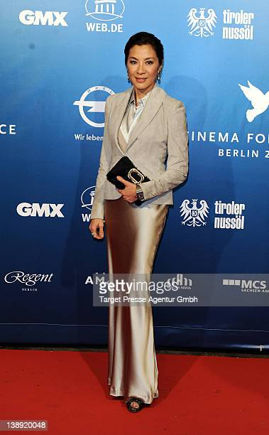 Michelle Yeoh attends the Cinema For Peace Gala at the Konzerthaus am Gendarmenmarkt during day five of the 62nd International Film Festival on...