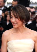 Michelle Yeoh attends the Premiere of 'Wall Street Money Never Sleeps' held at the Palais des Festivals during the 63rd Annual International Cannes...