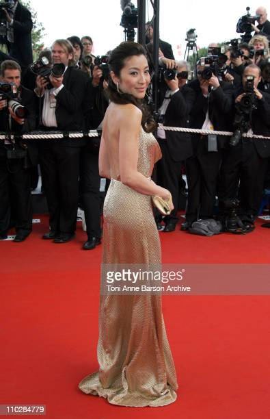 Michelle Yeoh during 2006 Cannes Film Festival 'Over The Hedge' Premiere at Palais des Festival in Cannes France