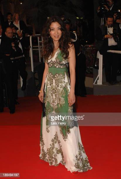 Michelle Yeoh during 2007 Cannes Film Festival 'Death Proof' Premiere at Palais des Festival in Cannes France