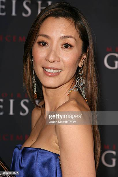 Michelle Yeoh during 'Memoirs of a Geisha' Los Angeles Premiere Arrivals at Kodak Theatre in Hollywood California United States