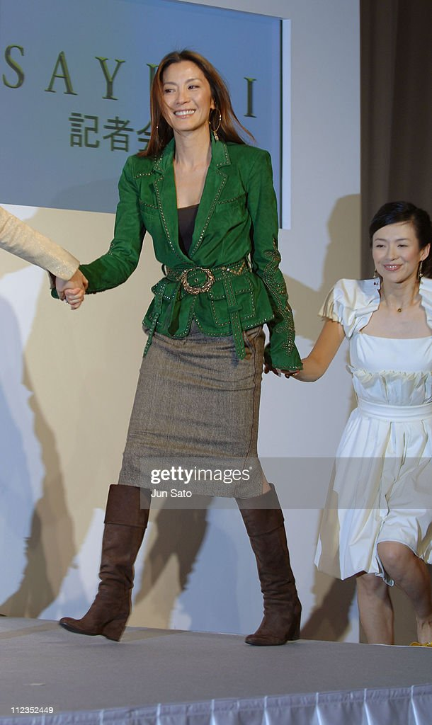 Michelle Yeoh during 'Memoirs of a Geisha' Tokyo Press Conference at Imperial Hotel in Tokyo Japan