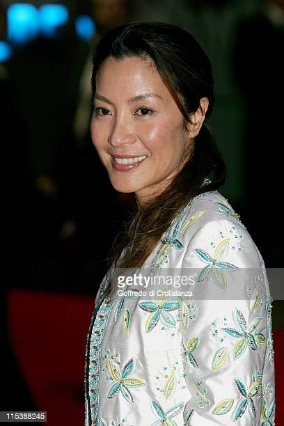 Michelle Yeoh during 'Revolver' London Premiere Arrivals at Odeon Leicester Square in London Great Britain