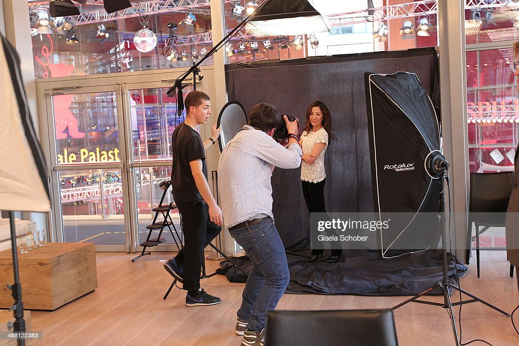 <a gi-track='captionPersonalityLinkClicked' href=/galleries/search?phrase=Michelle+Yeoh&family=editorial&specificpeople=223894 ng-click='$event.stopPropagation()'>Michelle Yeoh</a> poses for a portrait inside the AUDI Lounge at the Marlene Dietrich Platz during day 4 of the Berlinale International Film Festival on on February 9, 2014 in Berlin, Germany.
