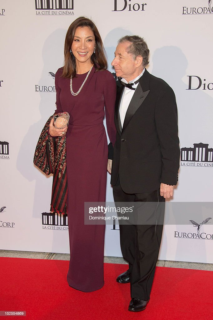 <a gi-track='captionPersonalityLinkClicked' href=/galleries/search?phrase=Michelle+Yeoh&family=editorial&specificpeople=223894 ng-click='$event.stopPropagation()'>Michelle Yeoh</a>and Jean todt attend 'La Cite Du Cinema' Launch on September 21, 2012 in Saint-Denis, France.