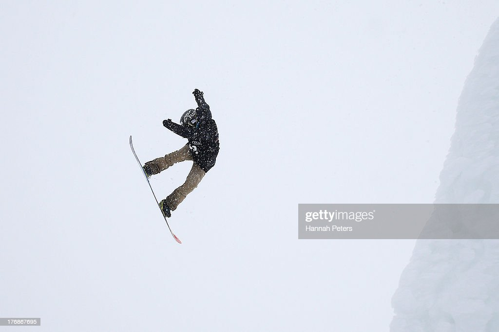 Michelle Zeller of the USA competes during the FIS Snowboard Slopestyle World Cup Finals during day five of the Winter Games NZ at Cardrona Alpine Resort on August 19, 2013 in Wanaka, New Zealand.