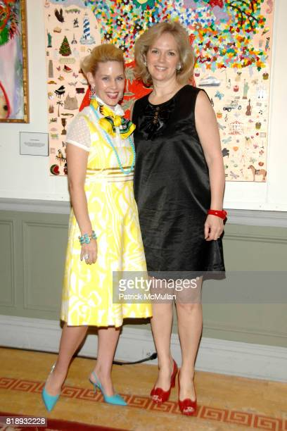 MichelleMarie Heinemann and Terri Lindvall attend MICHELLEMARIE HEINEMANN and TERRI LINDVALL'S Lecture and Private Dinner to benefit the YORKVILLE...