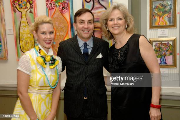 MichelleMarie Heinemann Eric Cohler and Terri Lindvall attend MICHELLEMARIE HEINEMANN and TERRI LINDVALL'S Lecture and Private Dinner to benefit the...