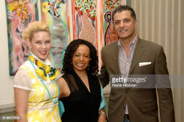 MichelleMarie Heinemann Naz and Samir Tahan attend MICHELLEMARIE HEINEMANN and TERRI LINDVALL'S Lecture and Private Dinner to benefit the YORKVILLE...