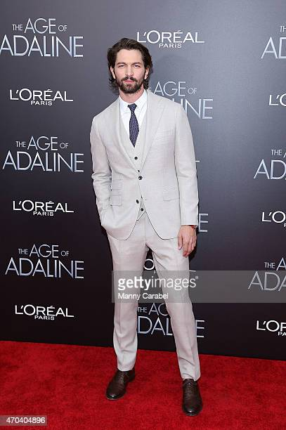 Michiel Huisman attends 'The Age of Adaline' premiere at AMC Loews Lincoln Square 13 theater on April 19 2015 in New York City