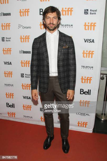 Michiel Huisman attends the 'Indian Horse' premiere during the 2017 Toronto International Film Festival at TIFF Bell Lightbox on September 15 2017 in...