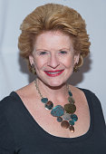 Michigan US Senator Debbie Stabenow attends The Creative Coalition 2015 Benefit Dinner at STK Washington DC on April 24 2015 in Washington DC