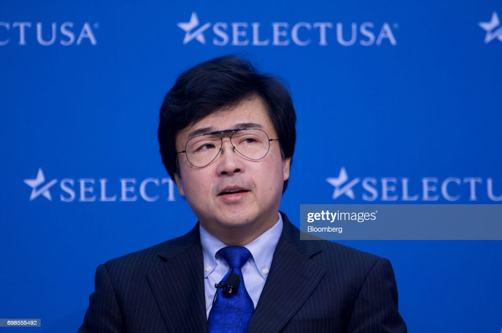 Michimasa Fujino, president and chief executive officer of Honda Aircraft Co., speaks during the SelectUSA Investment Summit in Oxon Hill, Maryland, U.S., on Tuesday, June 20, 2017. The SelectUSA Investment Summit brings together companies from all over the world, economic development organizations from every corner of the nation and other parties working to facilitate foreign direct investment (FDI) in the United States. Photographer: Eric Thayer/Bloomberg via Getty Images