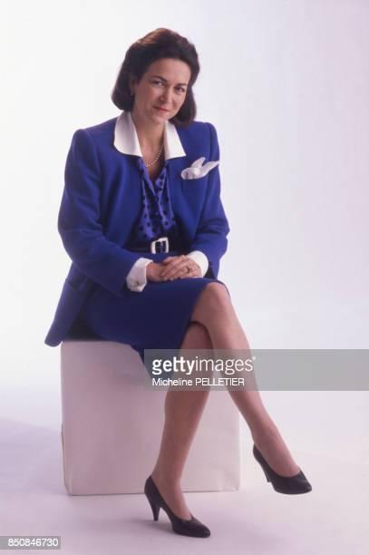 Michèle Barzach femme politique et médecin à Paris en décembre 1987 France
