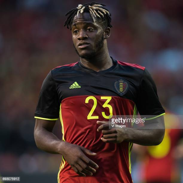 Michy Batshuayi of Belgiumduring the friendly match between Belgium and Czech Republic on June 05 2017 at the Koning Boudewijn stadium in Brussels...