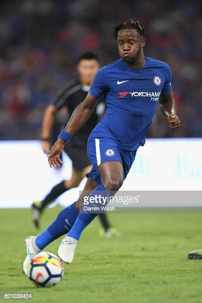 Michy Batshuayi of Chelsea during a friendly match between Chelsea and Arsenal at Birds Nest on July 22 2017 in Beijing China