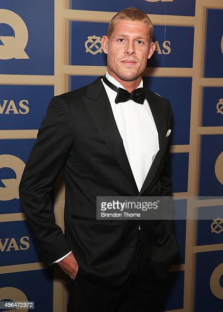 Mick Fanning arrives ahead of the 2015 GQ Men Of The Year Awards on November 10 2015 in Sydney Australia