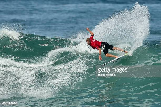 Mick Fanning of Australia surfs during the quarterfinals of the Oi Rio Pro 2017 at Itauna Beach on May 17 2017 in Saquarema Brazil