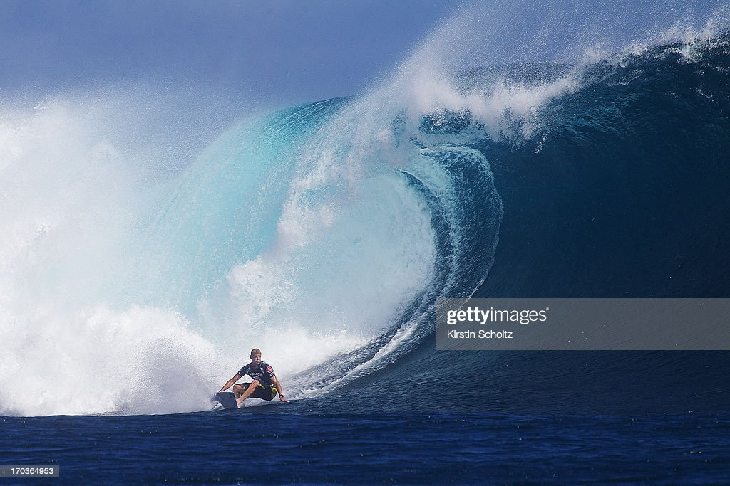 <a gi-track='captionPersonalityLinkClicked' href=/galleries/search?phrase=Mick+Fanning&family=editorial&specificpeople=553784 ng-click='$event.stopPropagation()'>Mick Fanning</a> of Australia surfs to a runner up finish on June 12, 2013 in Tavarua, Fiji.