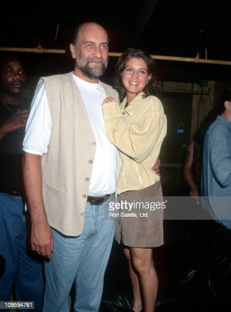 Mick Fleetwood and Lynn Frankel during Wedding Reception for Mick Fleetwood and Lynn Frankel July 26 1995 at Downtime in New York City New York...