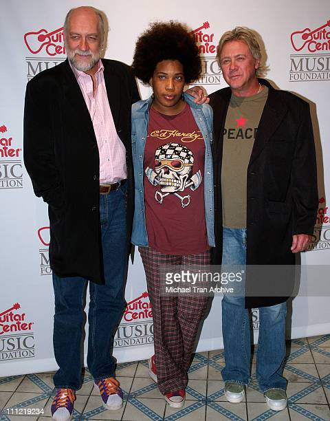 Mick Fleetwood Macy Gray and Ray Kennedy during The Guitar Center's 'An Evening with Ray Kennedy and Friends' at Avalon in Hollywood California...