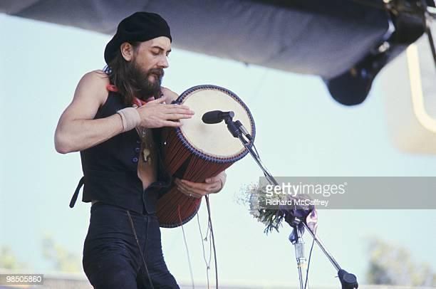 Mick Fleetwood of Fleetwood Mac performs live at The Oakland Coliseum 1975 in Oakland California